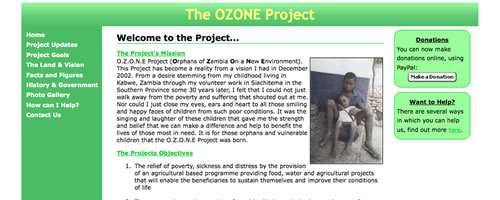 OZONE Project Website